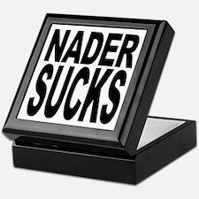 Nader Sucks Keepsake Box
