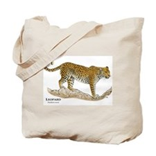 African Leopard Tote Bag