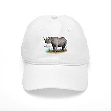 Black Rhinoceros Baseball Cap