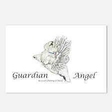 Guardian Angel Westie Postcards (Package of 8)
