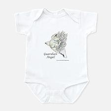 Guardian Angel Westie Infant Bodysuit