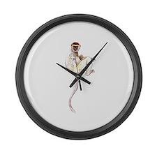 Verreaux's Sifaka Lemur Giant Clock