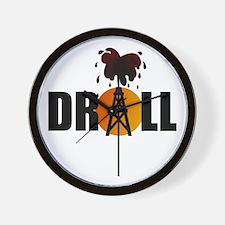 Drill 08 Wall Clock