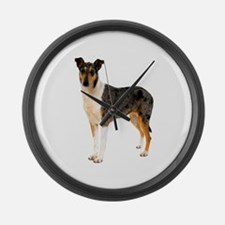 Smooth Collie Dog Lover Giant Clock