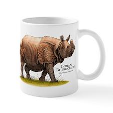Indian Rhinoceros Mug