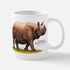Indian Rhinoceros Small Small Mug