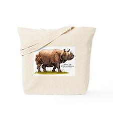 Indian Rhinoceros Tote Bag