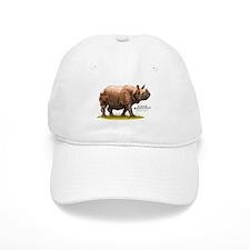 Indian Rhinoceros Baseball Cap