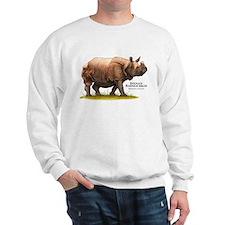Indian Rhinoceros Sweatshirt