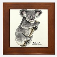 Koala Framed Tile