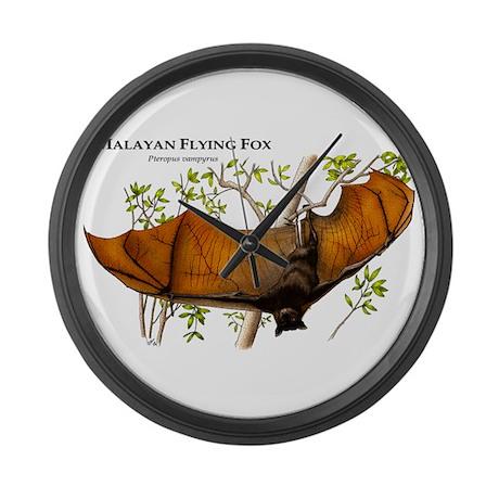 Malayan Flying Fox Giant Clock