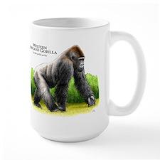 Western Lowland Gorilla Ceramic Mugs