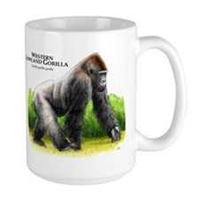 Western Lowland Gorilla Mug