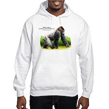Western Lowland Gorilla Hoodie Sweatshirt