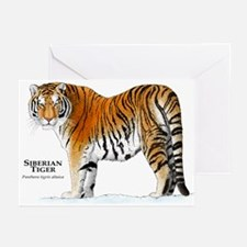 Siberian Tiger Greeting Cards (Pk of 10)