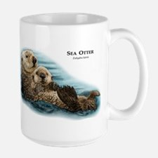 Sea Otter Large Mug