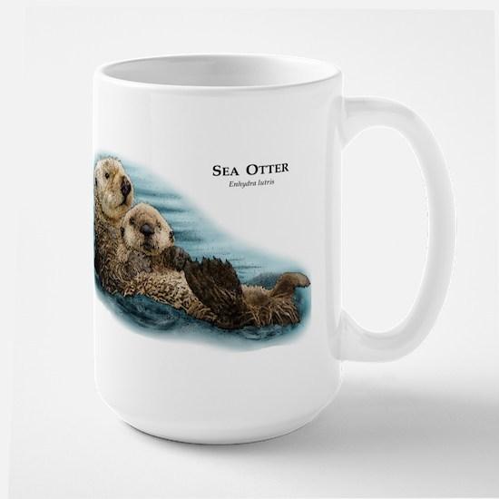 Sea Otter Large Mug