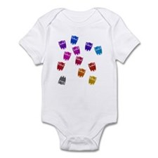 Owls in Rainbows Infant Bodysuit