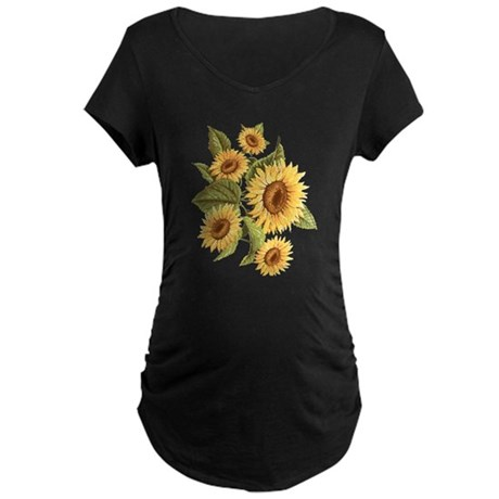 sunflower Maternity Dark T-Shirt