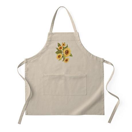 sunflower BBQ Apron