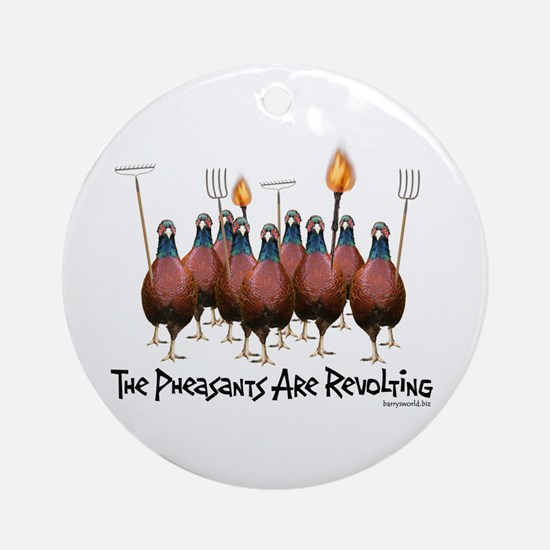 Pheasants1 Ornament (Round)
