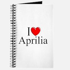 """""""I Love (Heart) Aprilia, Italy"""" Journal"""