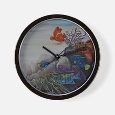 Tropical Nursery Wall Clock