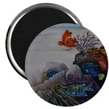 Tropical Nursery Magnet