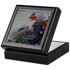 Tropical Nursery Keepsake Box