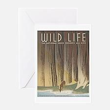 Wild Life Greeting Card