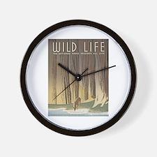 Wild Life Wall Clock