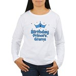 1st Birthday Prince's Grams! Women's Long Sleeve T