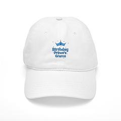 1st Birthday Prince's Grams! Baseball Cap