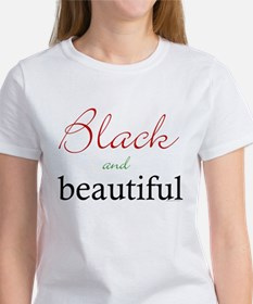 Funny Red black Tee