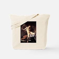 Caravaggio's Amor Vincit Omnia Tote Bag