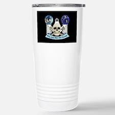 Freemasons Skull Stainless Steel Travel Mug