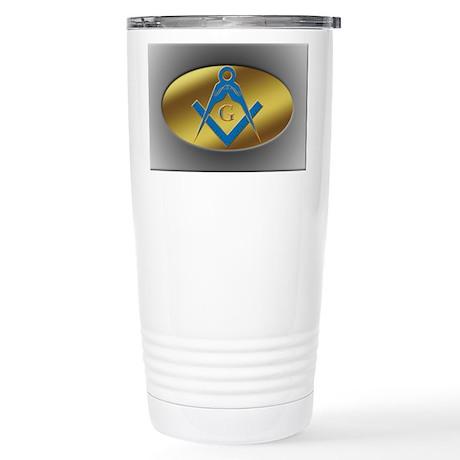 Freenasons Symbol Stainless Steel Travel Mug