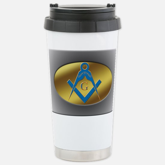 Freenasons Symbol Stainless Steel Travel Mug
