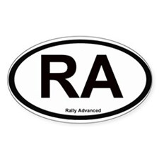 Sticker Oval Sticker (10 pk)