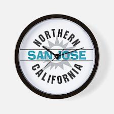San Jose California Wall Clock