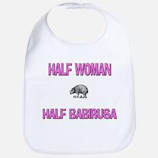 Half Woman Half Babirusa Bib