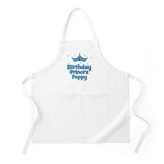 1st Birthday Prince's Poppy! BBQ Apron