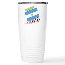 Argentina Soccer Team Travel Coffee Mug