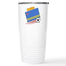 Aruba Soccer Team Travel Coffee Mug