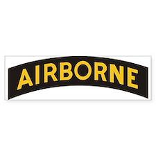 AIRBORNE Tab Bumper Bumper Stickers