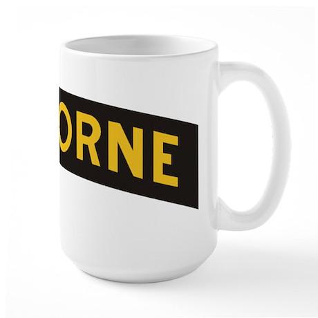 AIRBORNE Tab Large Mug