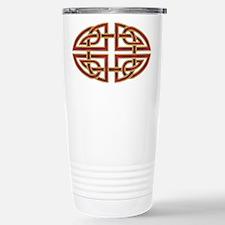 Celtic Red Knot Travel Mug