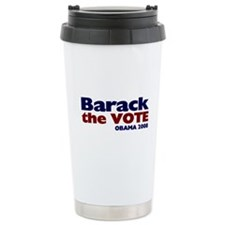 Barack the Vote Thermos Mug