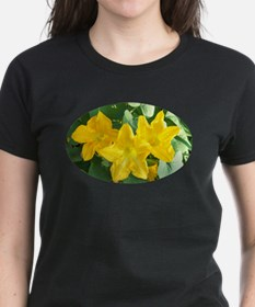 Oval Yellow Flower Tee