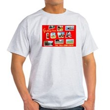 Iowa Greetings (Front) T-Shirt